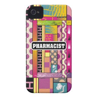 Regalos artsy del farmacéutico iPhone 4 Case-Mate coberturas