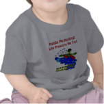 Regalos audazes Kayaking de la diversión Camiseta