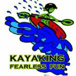Regalos audazes Kayaking de la diversión Esculturas Fotograficas