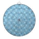 Regalos azules modernos del modelo de los cuadrado tabla dardos