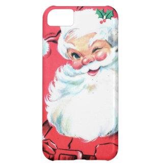Regalos bajo caso del iPhone de $50 Santa Funda iPhone 5C