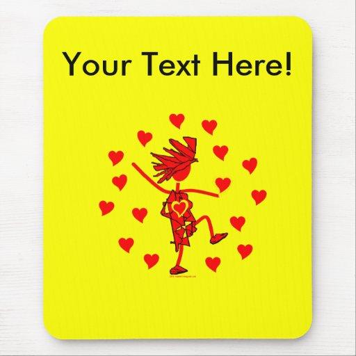 Regalos banales y camisetas del día de San Valentí Alfombrillas De Raton