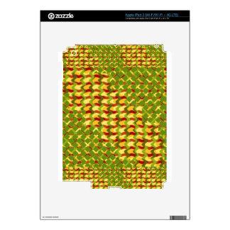 REGALOS baratos de la terapia curativa colorida iPad 3 Pegatinas Skins