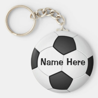 Regalos baratos personalizados del fútbol para los llavero redondo tipo pin