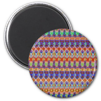 Regalos baratos únicos del sorteo del fiesta del imán redondo 5 cm