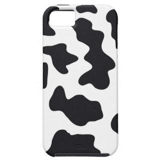Regalos blancos y negros de la impresión del model iPhone 5 carcasas