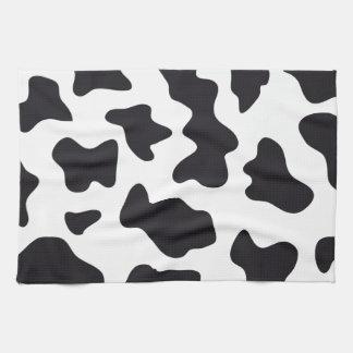 Regalos blancos y negros de la impresión del model toallas