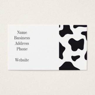Regalos blancos y negros de la impresión del tarjeta de negocios