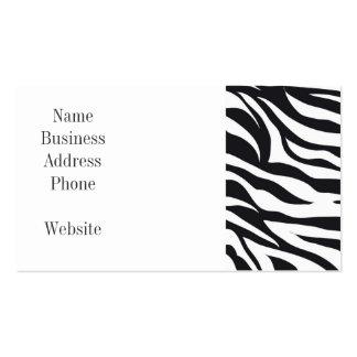 Regalos blancos y negros del modelo de la impresió plantillas de tarjetas de visita