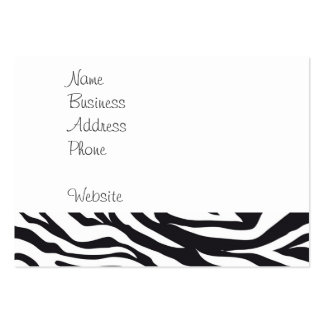 Regalos blancos y negros del modelo de la impresió tarjeta de negocio