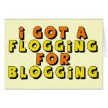 Regalos Blogging divertidos de las camisetas Felicitacion
