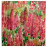 Regalos bonitos soleados del jardín de flores servilletas de papel