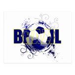 Regalos brasileños azules de los amantes del fútbo