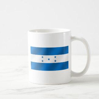 Regalos brillantes azules claros de la bandera de  taza de café
