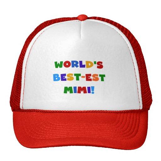 Regalos brillantes de las camisetas de los colores gorras de camionero