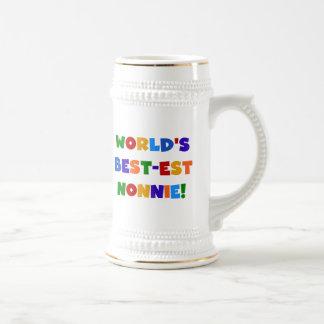 Regalos brillantes de los colores del Mejor-est Taza De Café