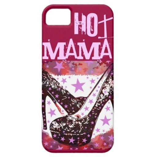 Regalos calientes del día de madres de los tacones iPhone 5 Case-Mate carcasas