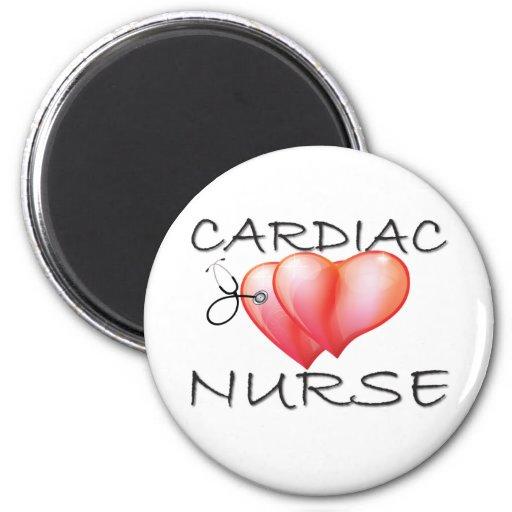Regalos cardiacos de la enfermera iman de frigorífico