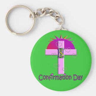 Regalos católicos del día de la confirmación para  llavero
