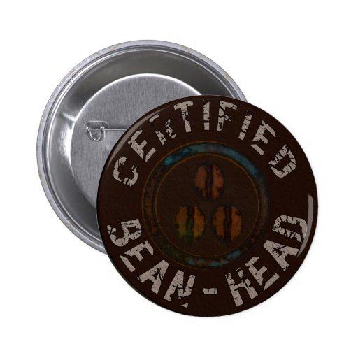 Regalos certificados de la Haba-Cabeza Pins