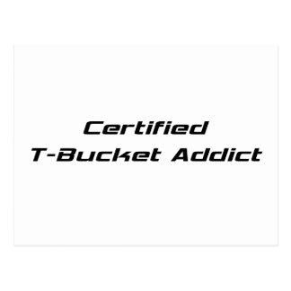 Regalos certificados de Tbucket del adicto al Postal