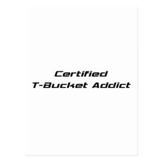 Regalos certificados de Tbucket del adicto al Tarjeta Postal