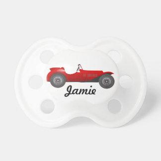 Regalos clásicos personalizados del coche chupetes de bebe