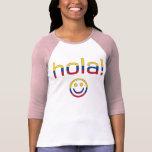 Regalos colombianos: Hola/Hola + Cara sonriente Camisetas