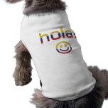 Regalos colombianos: Hola/Hola + Cara sonriente Ropa Macota