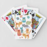 Regalos coloridos de la impresión de los gatos del baraja