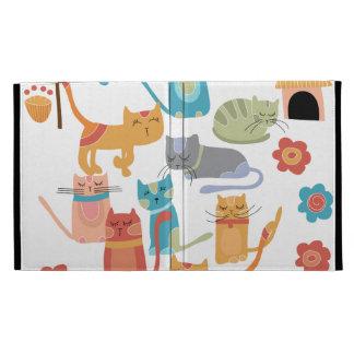 Regalos coloridos de la impresión de los gatos del