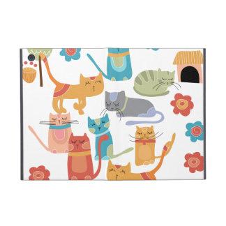 Regalos coloridos de la impresión de los gatos del iPad mini carcasas