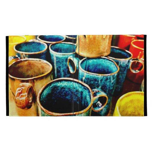 Regalos coloridos de las tazas de café para el tru