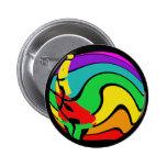 Regalos coloridos del arte del arco iris pin