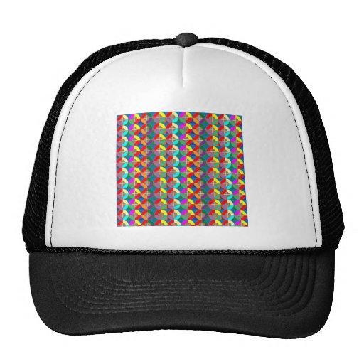Regalos coloridos gráficos del ARTE del símbolo de Gorras De Camionero