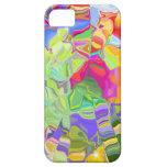 Regalos coloridos hermosos de los cubos de hielo d iPhone 5 funda