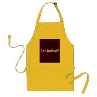 Regalos conseguidos del café delantal