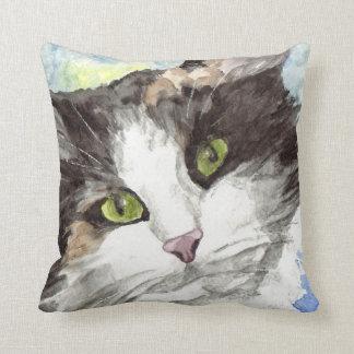 Regalos contemporáneos del amante del gato de cojín decorativo
