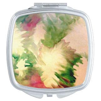 Regalos cosméticos del día de madre del espejo de espejo de viaje