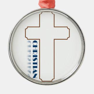 Regalos cristianos ornamento para arbol de navidad