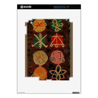 Regalos curativos del símbolo de Karuna Reiki de iPad 2 Calcomanías