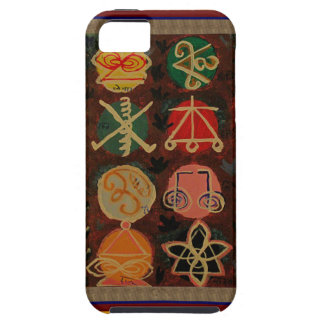 Regalos curativos del símbolo de Karuna Reiki de iPhone 5 Carcasas