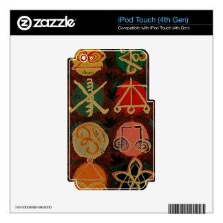 Regalos curativos del símbolo de Karuna Reiki de Skins Para iPod Touch 4G