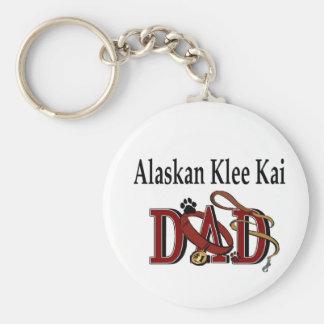 Regalos de Alaska de Klee Kai Llavero Redondo Tipo Pin
