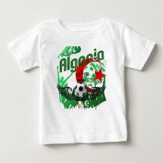 Regalos de Algerie de los fanáticos del fútbol del Playera Para Bebé