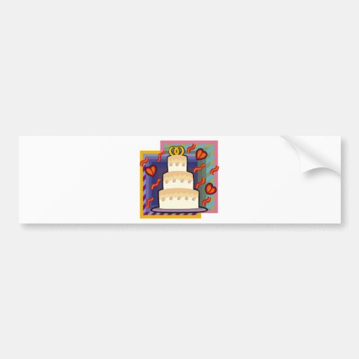 Regalos de boda 28 pegatina de parachoque