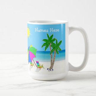 Regalos de boda temáticos de la playa 2 cajas de taza de café