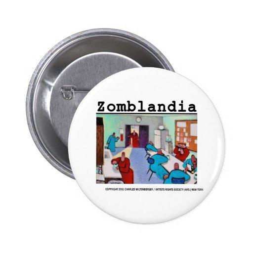 Regalos de Breakroom del zombi Pins