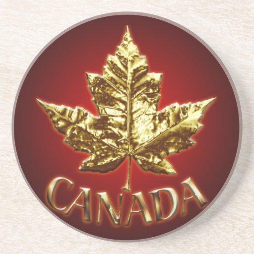 Regalos de Canadá del oro del práctico de costa de Posavasos Cerveza