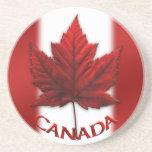Regalos de Canadá del práctico de costa del recuer Posavasos Cerveza